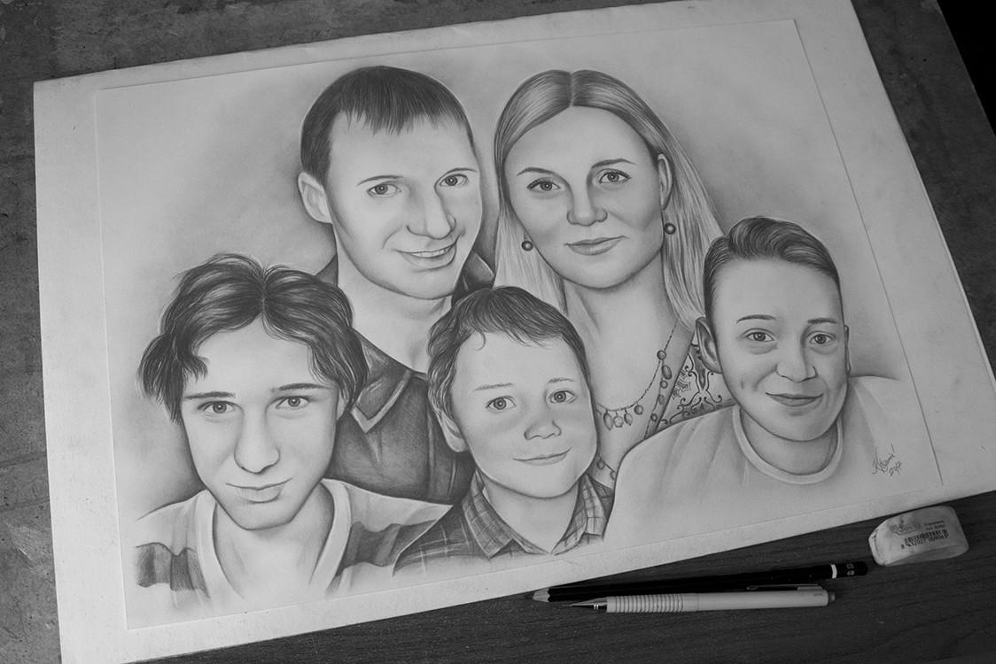Kadriart portree joonistused ja illustratsioonid DSC00346