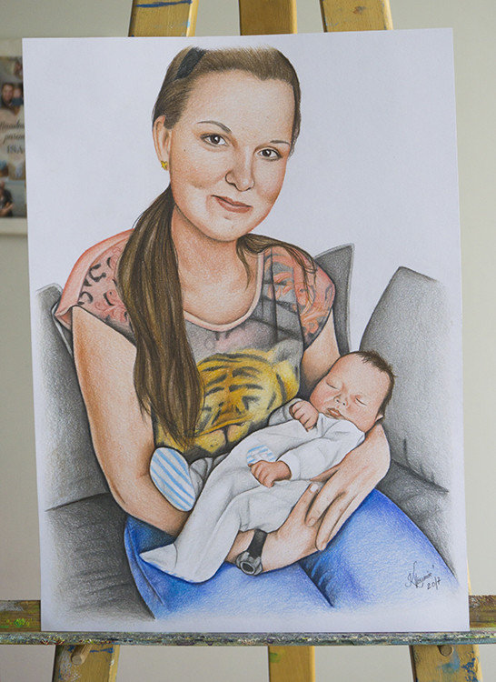 Kadriart portree joonistused ja illustratsioonid DSC01094