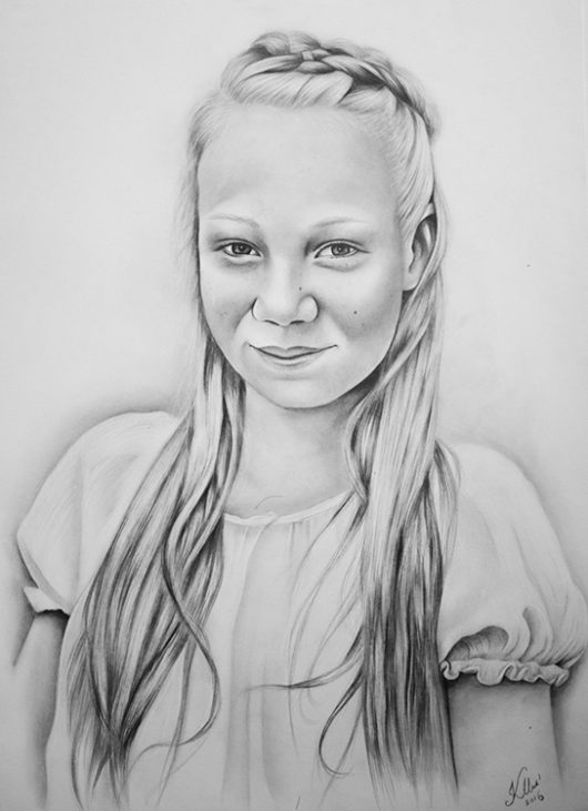 Kadriart portree joonistused ja illustratsioonid Joonistus16-e1481285819312