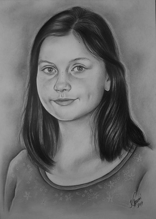 Kadriart portree joonistused ja illustratsioonid Portree-joonistus-1