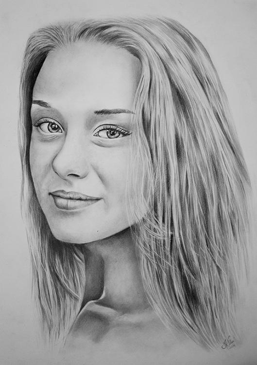Kadriart portree joonistused ja illustratsioonid Portreejoonistus-15