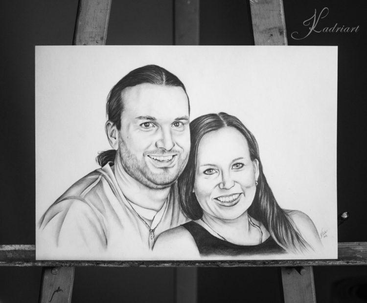 Kadriart portree joonistused ja illustratsioonid Portreejoonistus-18-e1483131182797