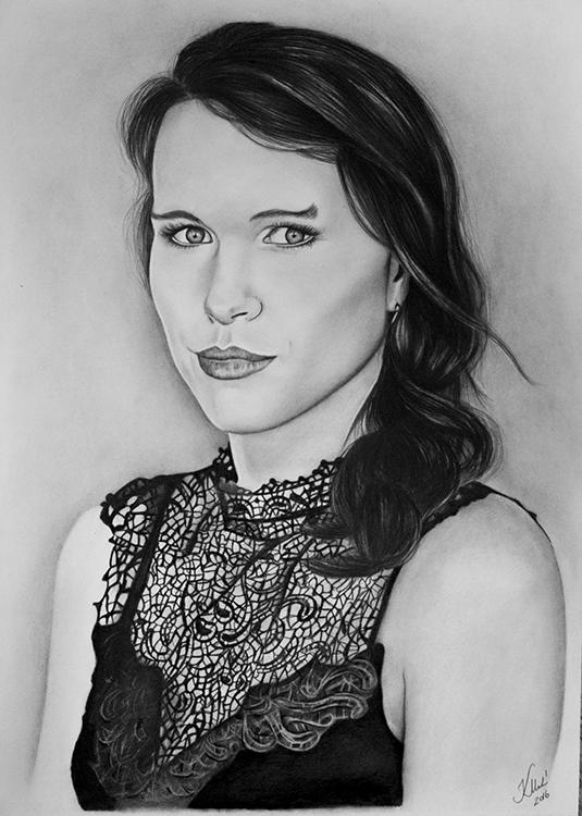 Kadriart portree joonistused ja illustratsioonid Portreejoonistus-22