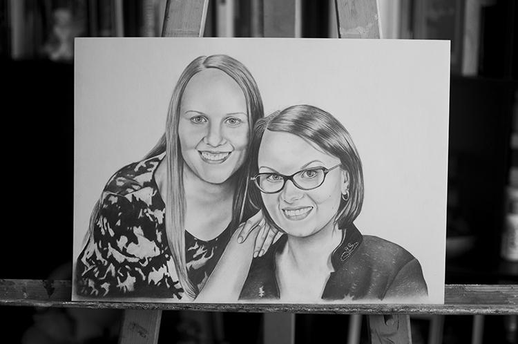 Kadriart portree joonistused ja illustratsioonid Portreejoonistus-23