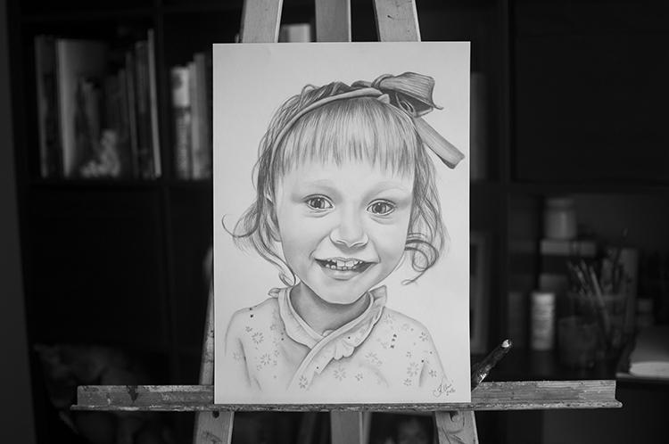 Kadriart portree joonistused ja illustratsioonid Portreejoonistus-28