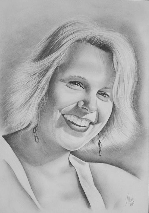 Kadriart portree joonistused ja illustratsioonid Portreejoonistus-29