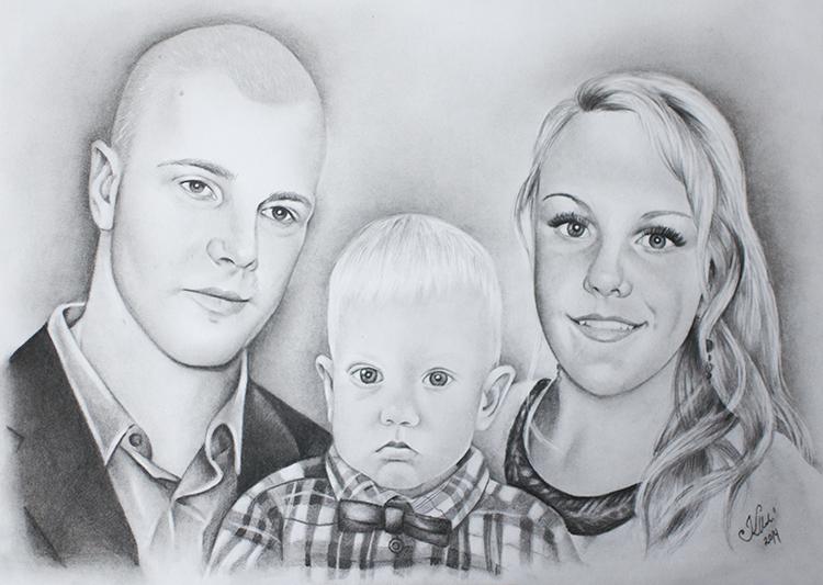 Kadriart portree joonistused ja illustratsioonid Portreejoonistus-3