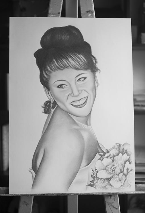 Kadriart portree joonistused ja illustratsioonid Portreejoonistus-30