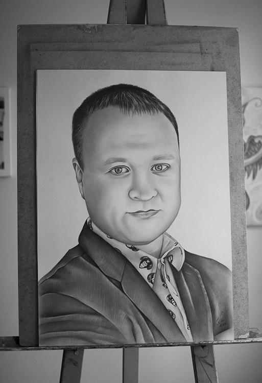 Kadriart portree joonistused ja illustratsioonid Portreejoonistus-31