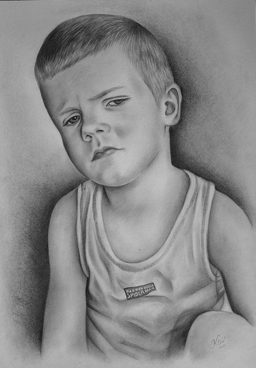 Kadriart portree joonistused ja illustratsioonid Portreejoonistus-34