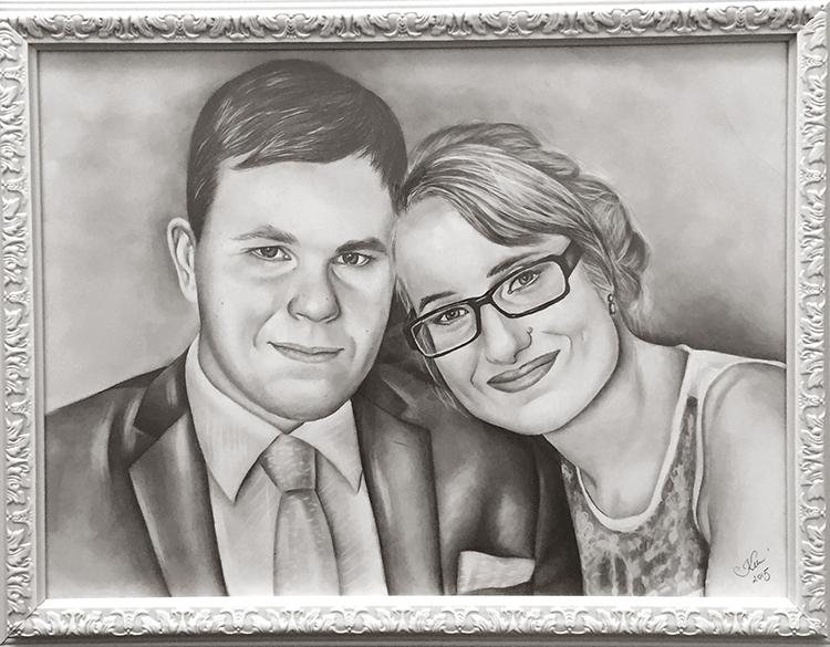 Kadriart portree joonistused ja illustratsioonid Portreejoonistus-43