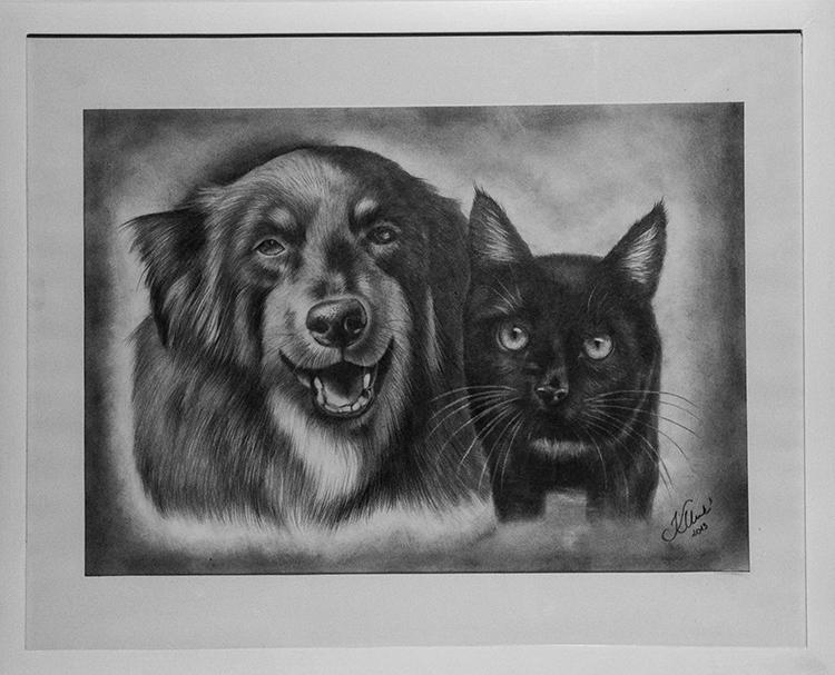 Kadriart portree joonistused ja illustratsioonid Portreejoonistus-45