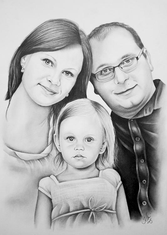 Kadriart portree joonistused ja illustratsioonid Portreejoonistus-49