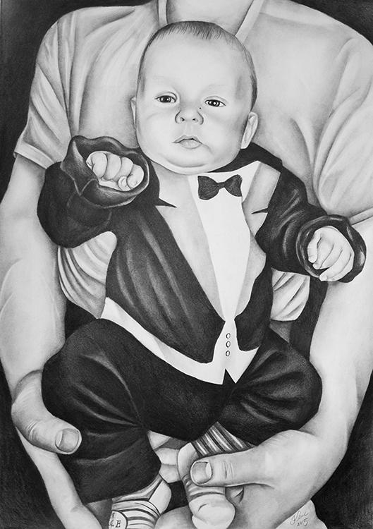 Kadriart portree joonistused ja illustratsioonid Portreejoonistus-54