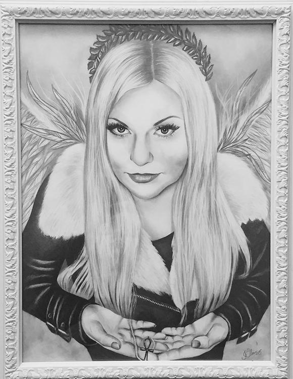 Kadriart portree joonistused ja illustratsioonid Portreejoonistus-57