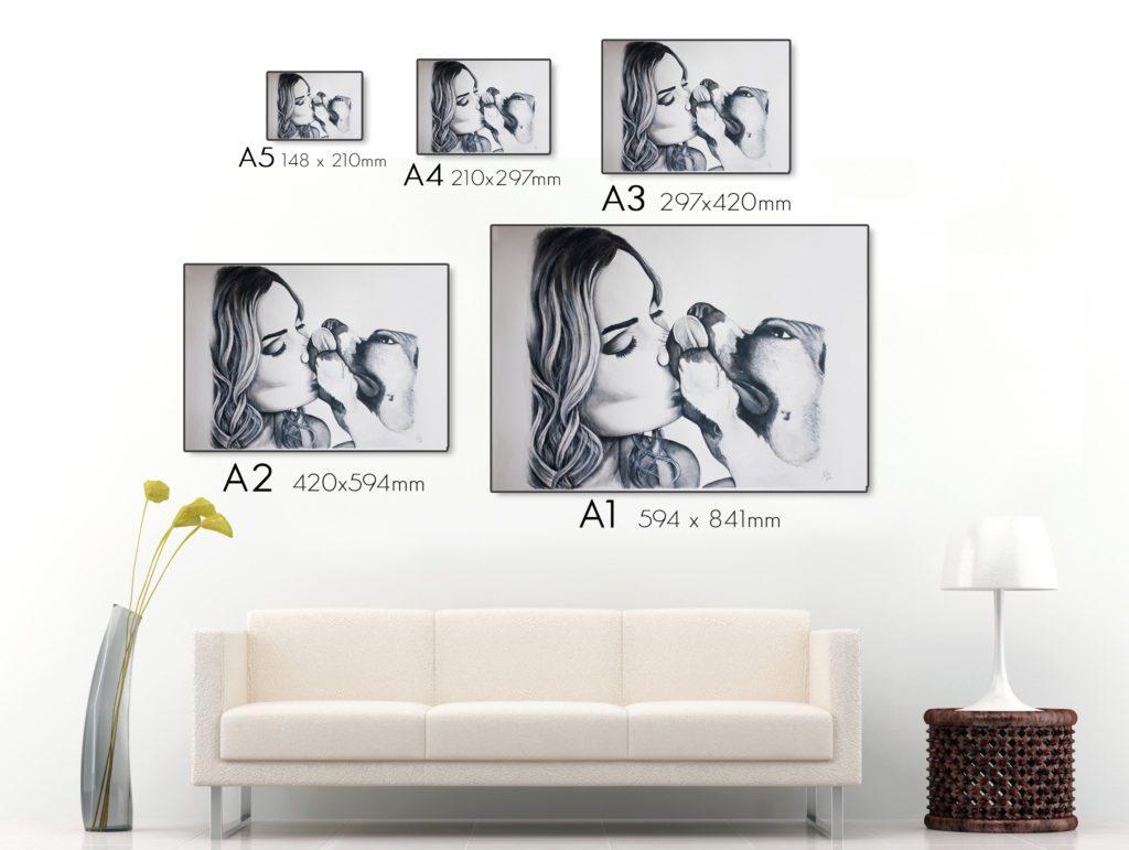Kadriart portree joonistused diivan-1024x771