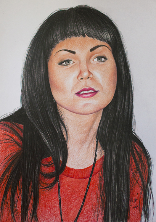 Kadriart portree joonistused ja illustratsioonid portree-joonistus