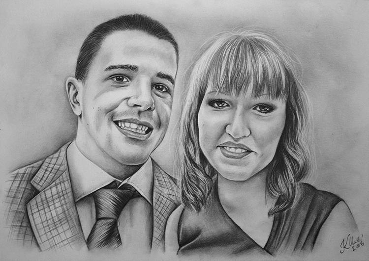 Kadriart portree joonistused ja illustratsioonid portreejoonistus-5