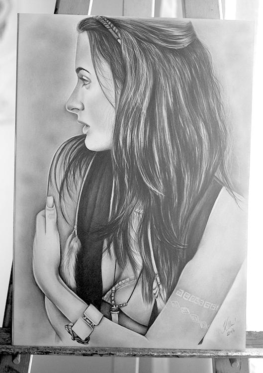 Kadriart portree joonistused ja illustratsioonid portreejoonistus