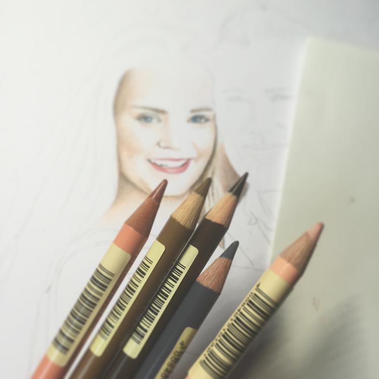 Kadriart portree joonistused ja illustratsioonid värviline-portreejoonistus-10