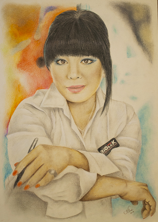 Kadriart portree joonistused ja illustratsioonid värviline-portreejoonistus-11