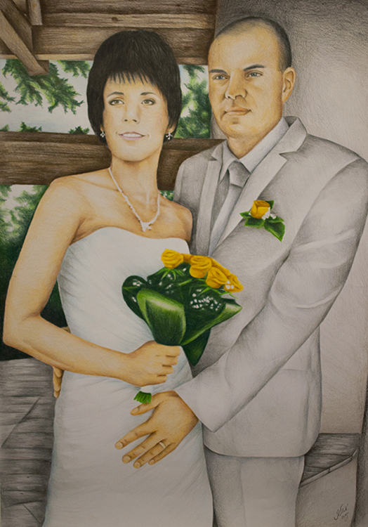 Kadriart portree joonistused ja illustratsioonid värviline-portreejoonistus-12