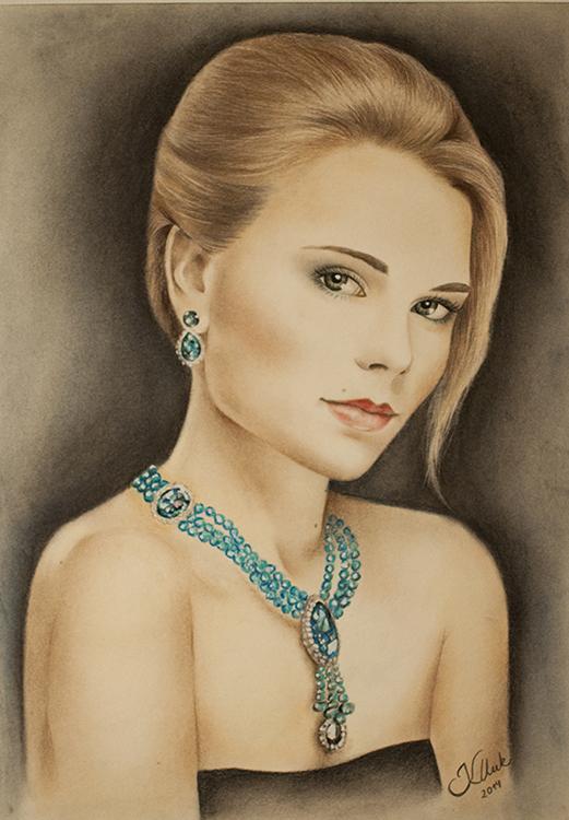 Kadriart portree joonistused ja illustratsioonid värviline-portreejoonistus-13