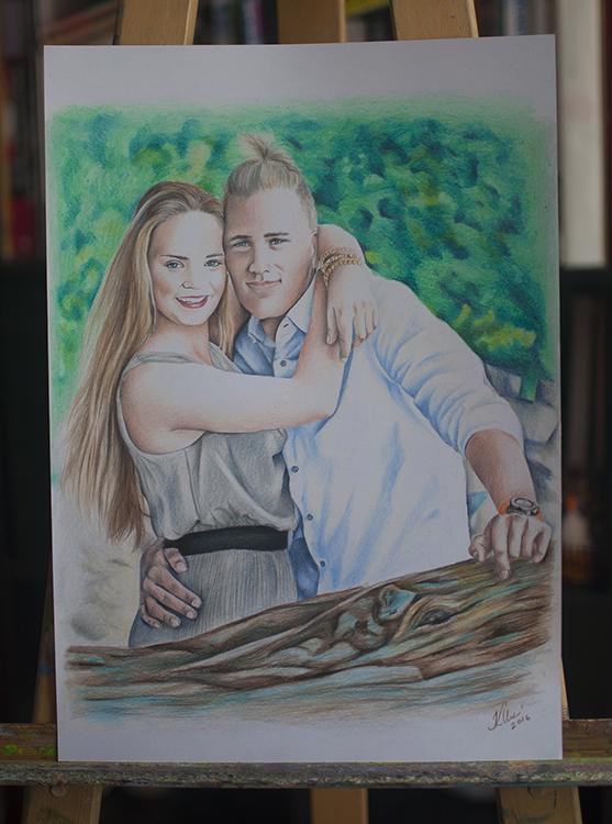 Kadriart portree joonistused ja illustratsioonid värviline-portreejoonistus-5