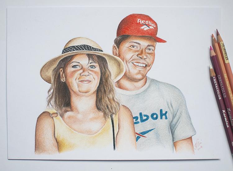 Kadriart portree joonistused ja illustratsioonid värviline-portreejoonistus-6