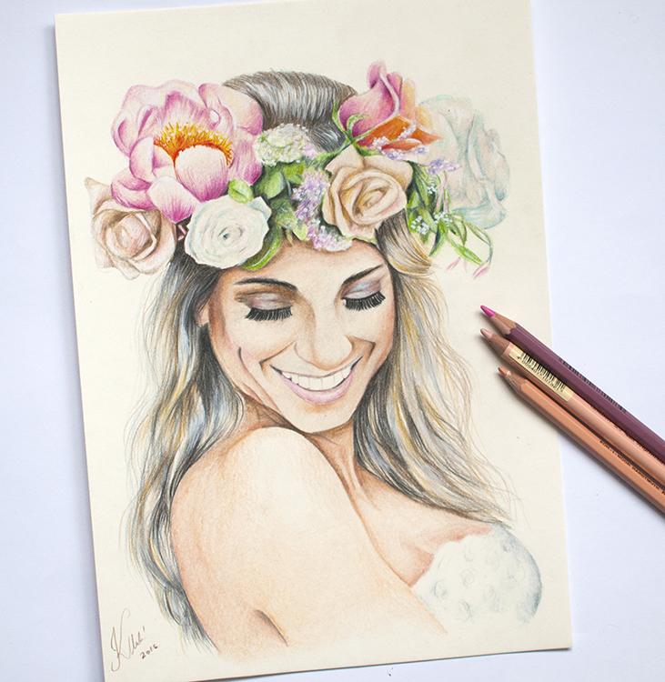 Kadriart portree joonistused ja illustratsioonid värviline-portreejoonistus-7
