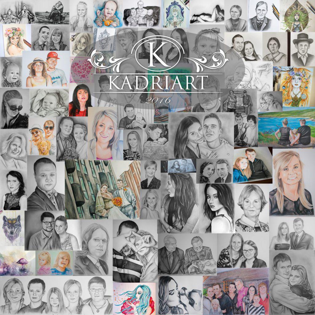 Kadriart portree joonistused ja illustratsioonid 20166-1024x1024