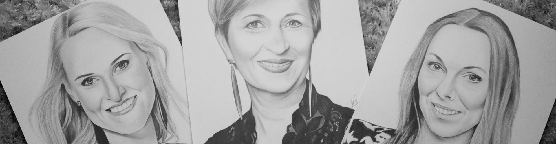 Kadriart portree joonistused ja illustratsioonid kaane2
