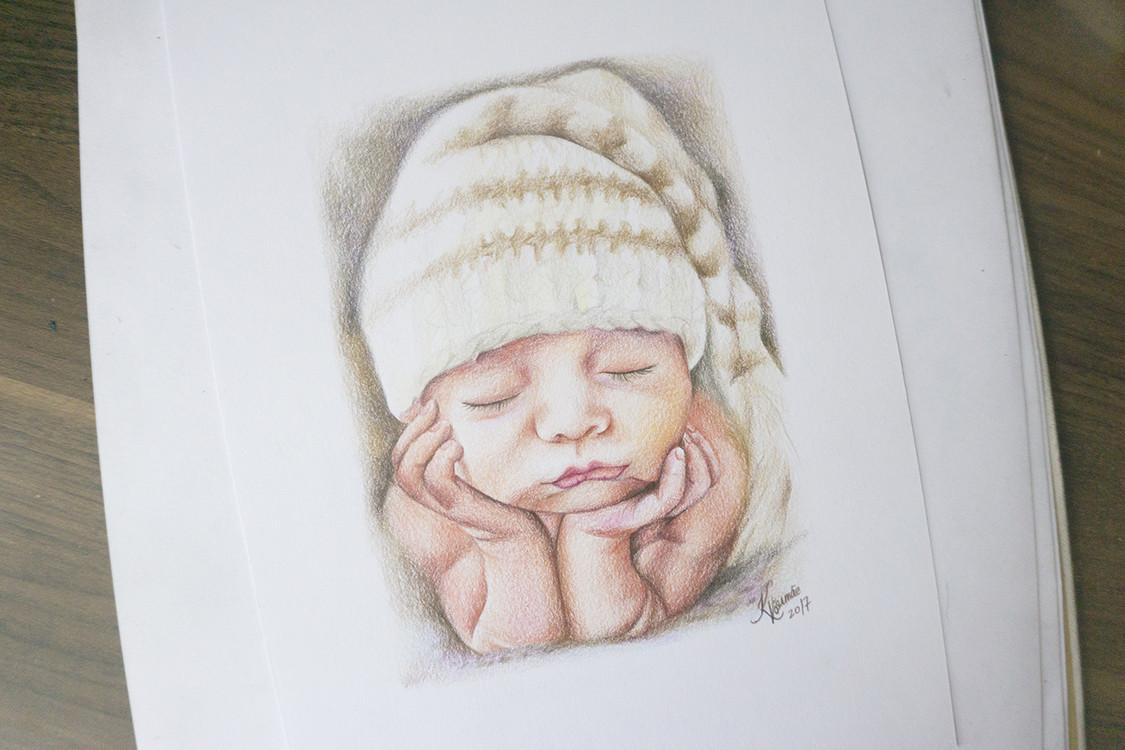 Kadriart portree joonistused ja illustratsioonid 5