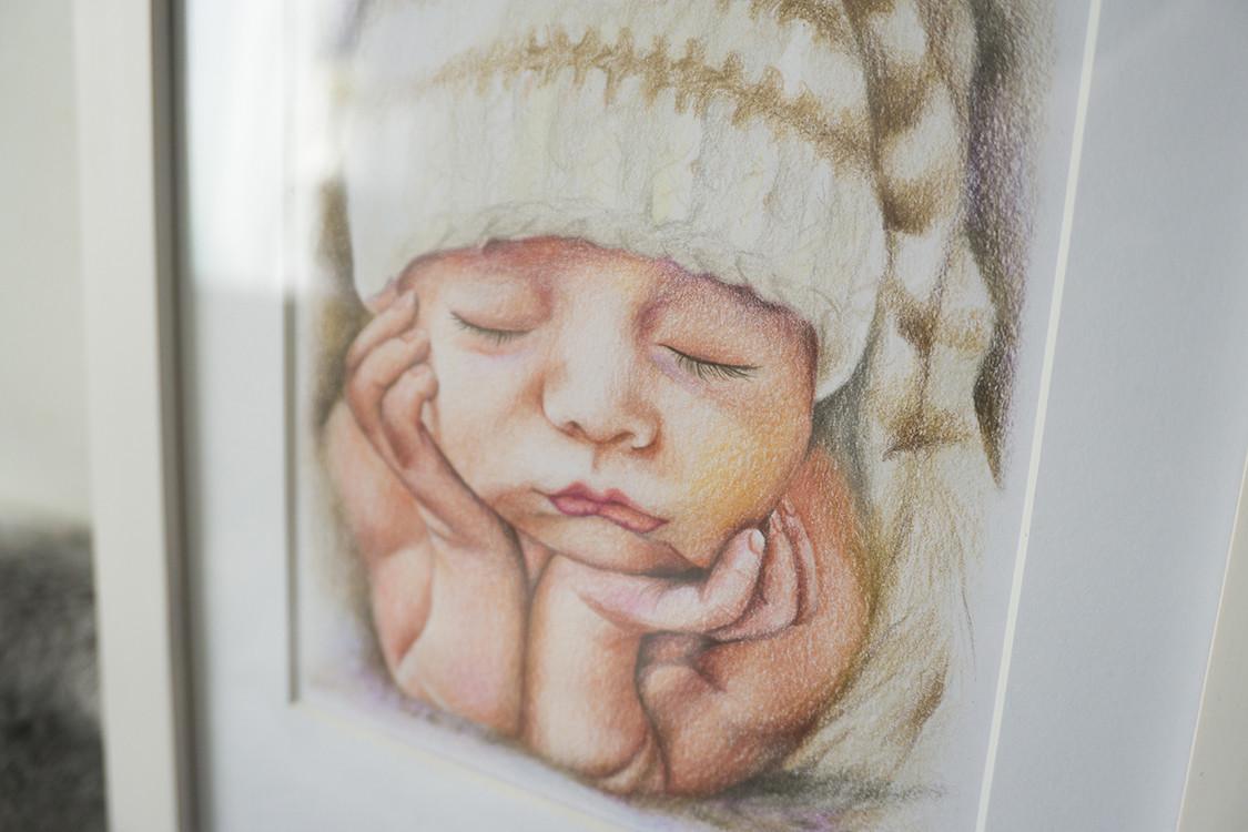Kadriart portree joonistused ja illustratsioonid 6