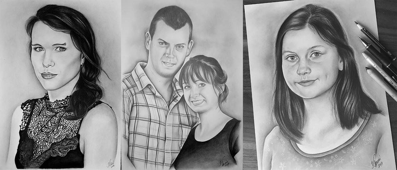 Kadriart portree joonistused ja illustratsioonid sõbrapäev-koduka-header