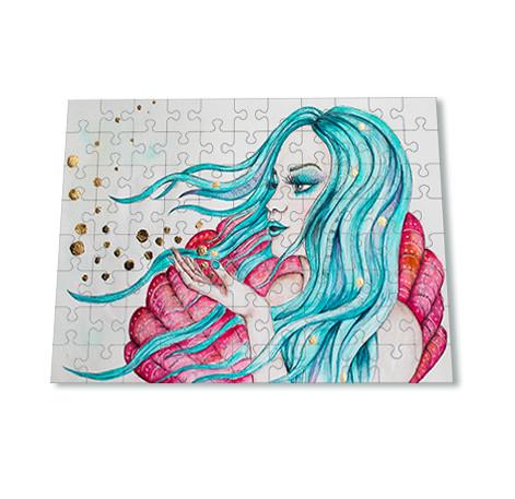 Kadriart portree joonistused ja illustratsioonid puzzle