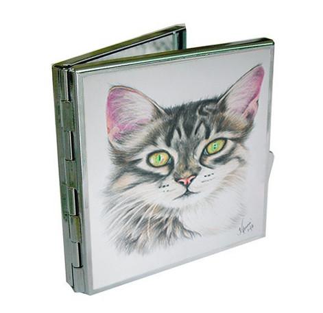 Kadriart portree joonistused ja illustratsioonid taskupeegel