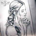 Kadriart portree joonistused visand-150x150