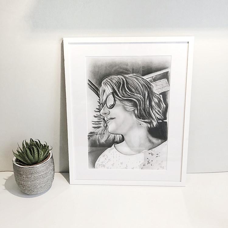 Kadriart portree joonistused ja illustratsioonid Pliiatsijoonistus-foto-järgi-5