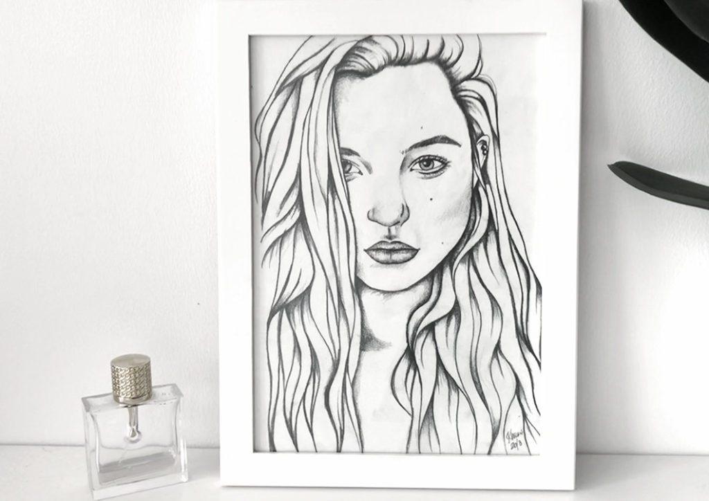 Kadriart portree joonistused ja illustratsioonid 9-1024x724