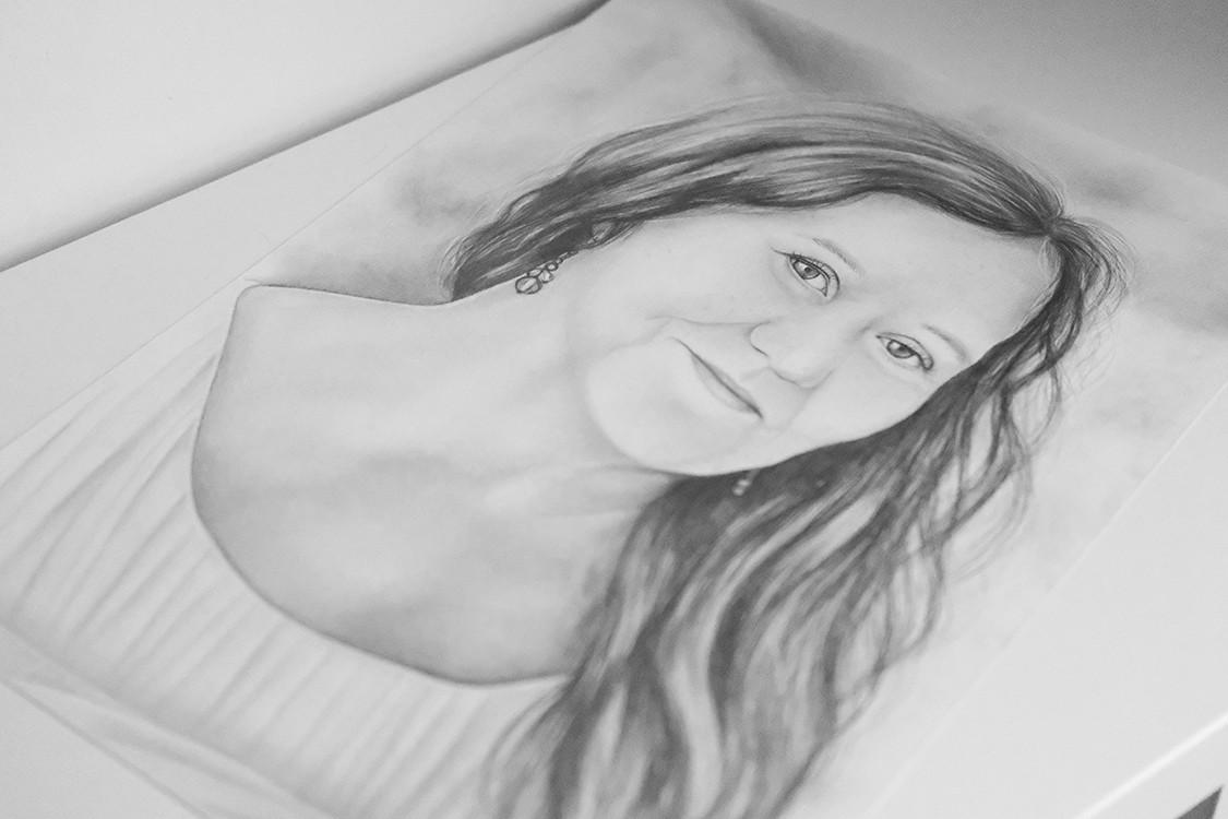 Kadriart portree joonistused ja illustratsioonid Portree-joonistus-foto-järgi-2