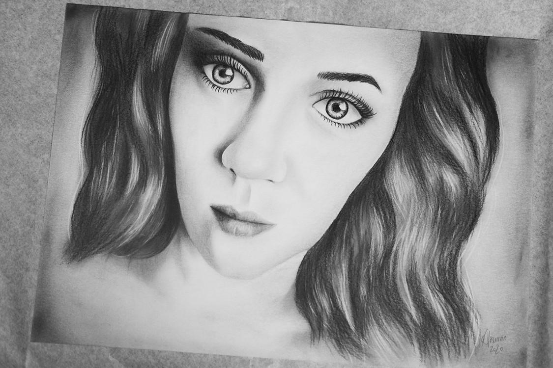 Kadriart portree joonistused ja illustratsioonid Portree-joonistus-foto-järgi-3