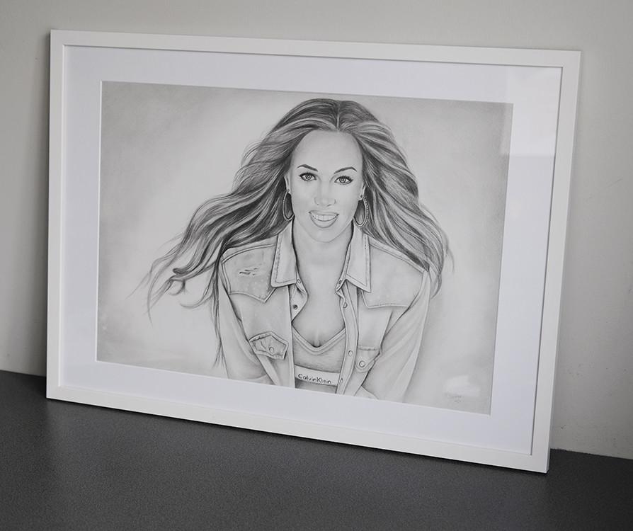 Kadriart portree joonistused ja illustratsioonid Portreejoonistus-fotost-1