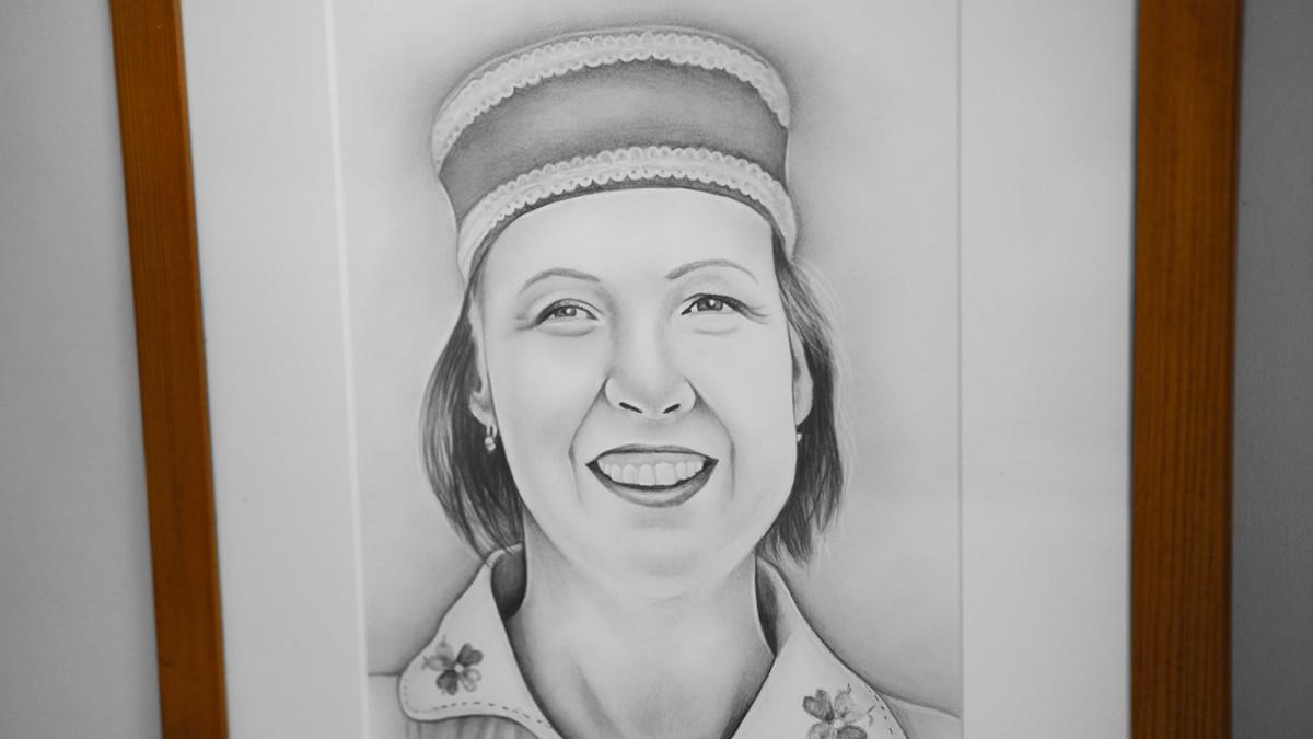 Kadriart portree joonistused ja illustratsioonid Portreejoonistus-fotost-3
