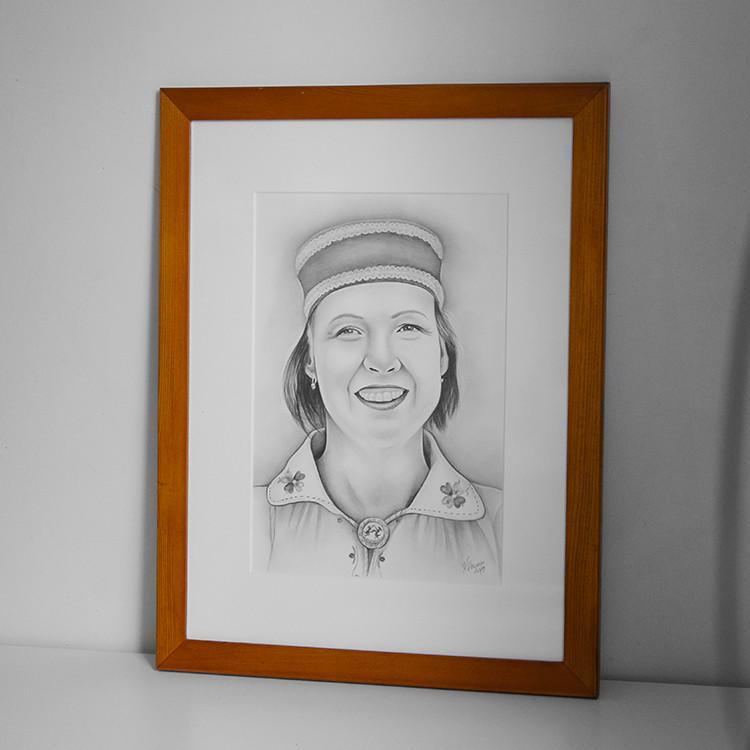 Kadriart portree joonistused ja illustratsioonid Portreejoonistus-fotost-6