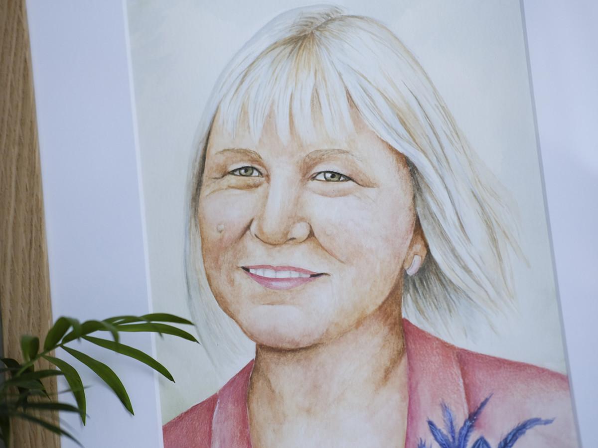 Kadriart portree joonistused ja illustratsioonid DSCF67291