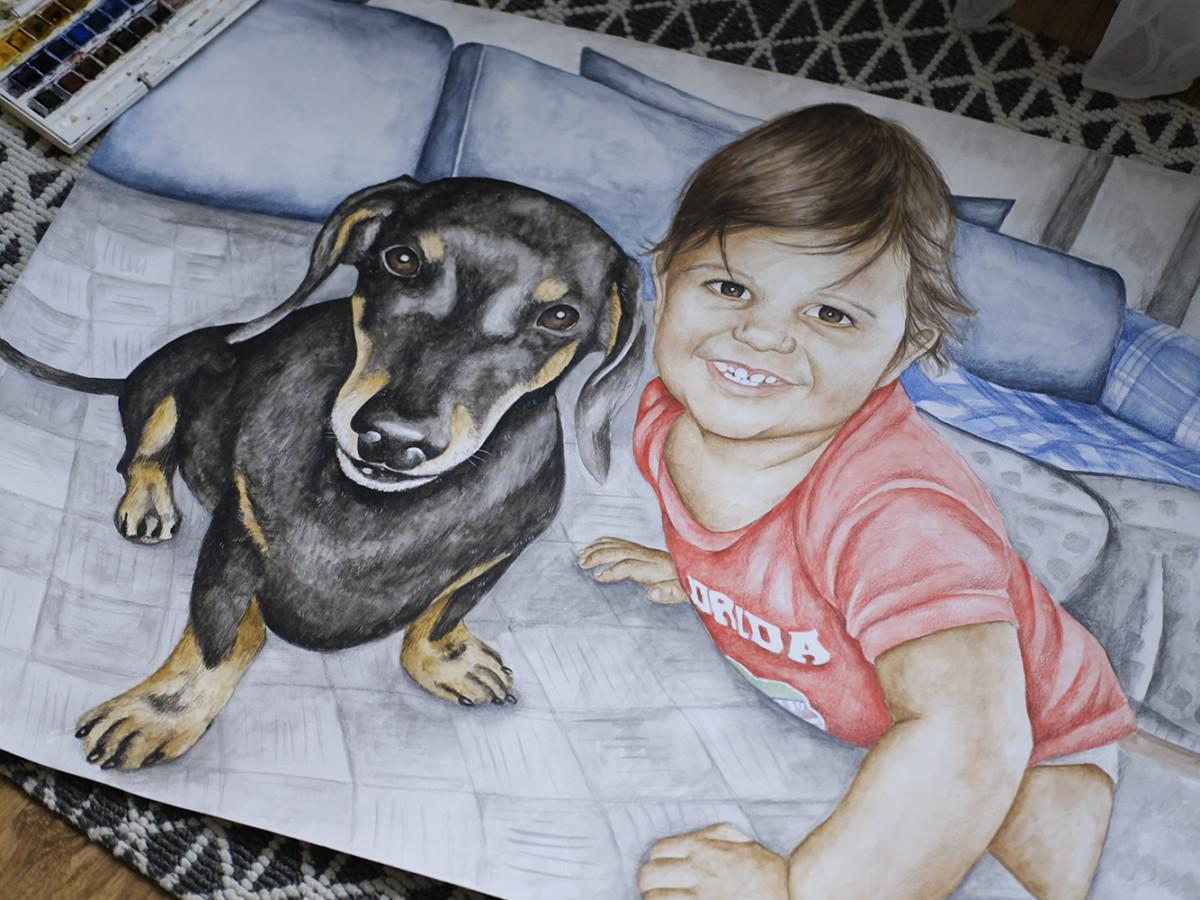 Kadriart portree joonistused ja illustratsioonid DSCF7092