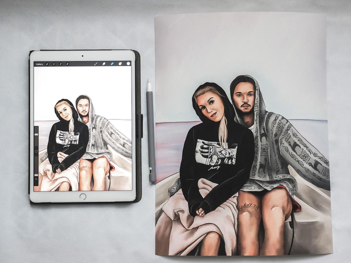 Kadriart portree joonistused ja illustratsioonid EF43FCFA-2436-4F98-A3B2-03CEEC05D7D81