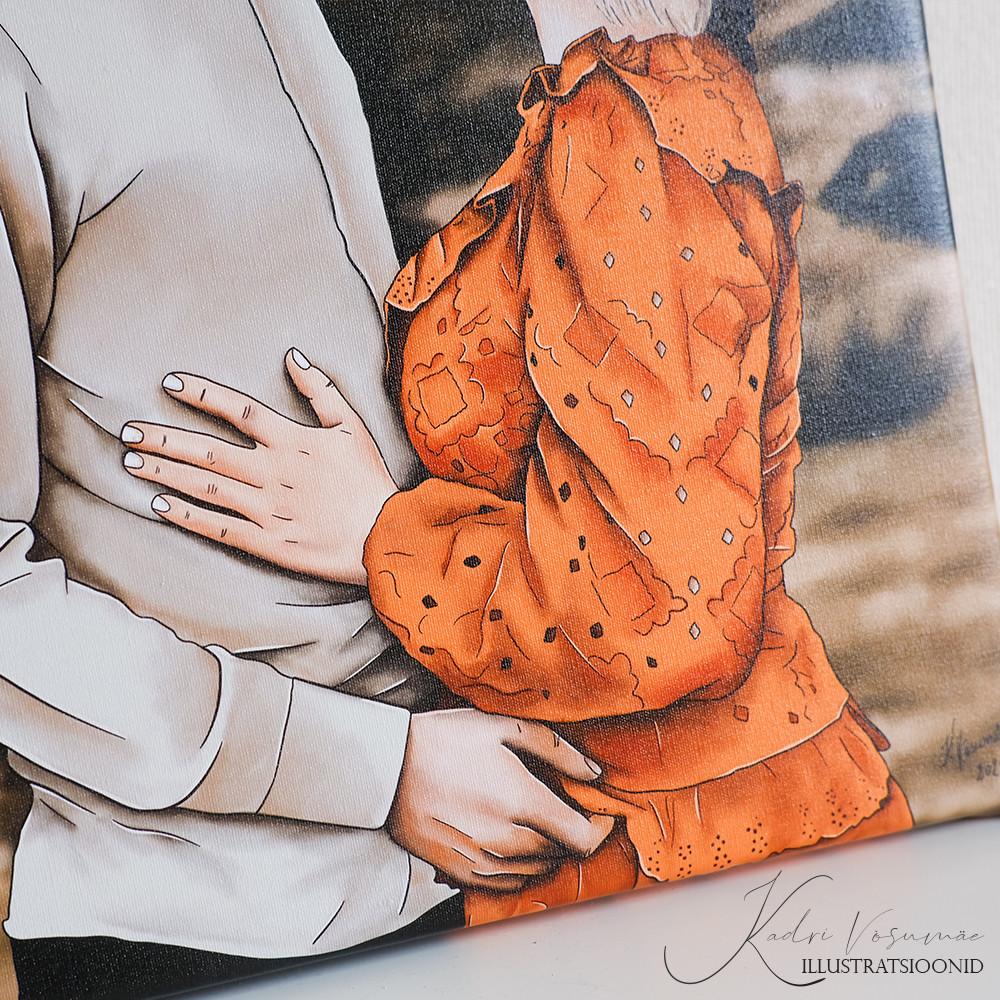 Kadriart portree joonistused ja illustratsioonid digimaal22