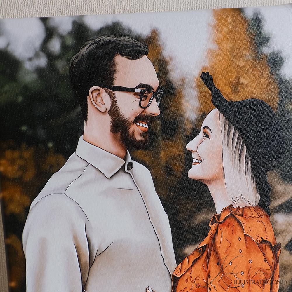 Kadriart portree joonistused ja illustratsioonid digimaal3